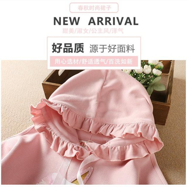 2020 Baby Girl Fashion Clothing Set Cute  Dress girls Infant Elegant Clothes Sets Children Party Birthday Wear 5