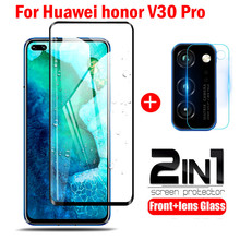 Protective-Glass Screen-Protector Lens-Camera Honor V30 for Huawei V30/Pro-view/30 2-In-1