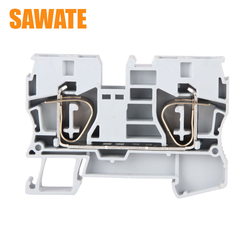 10Pcs ST 10 Cable Terminal Blocks CONTACT Wire Connectors Pull Spring Cage Connection Ground Cable Terminal Blocks Wire Terminal Blocks    - title=