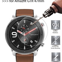Screen-Protector Smart-Watch Amazfit Tempered-Glass Xiaomi for GTR 47mm 42mm 2pcs Explosion-Proof