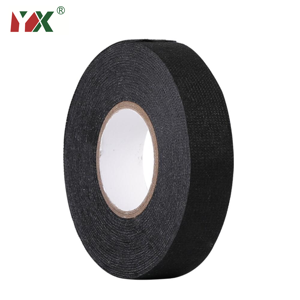 YX 15M Heat resistant Cloth tape Flannelette Wiring Harness Adhesive Tape  For automobile Wire wrapping Cable Protection|Tape| - AliExpressAliExpress
