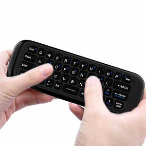 Image 2 - Original W1 PRO mouche Air souris sans fil clavier souris 2.4G rechargeable Mini télécommande pour ordinateur portable intelligent Android TV Box PC
