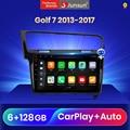 Junsun V3 Pro Qualcomm Voice Control Android 10 Auto Radio Multimedia-Player Für VW Golf 7 2013-2017 CarPlay auto 2Din