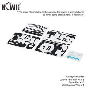 Image 5 - Capa de pele do corpo da câmera anti risco para sony a6100 a6400 a6300 + selp1650 16 50mm protetor de lente 3 m adesivo filme de fibra de carbono