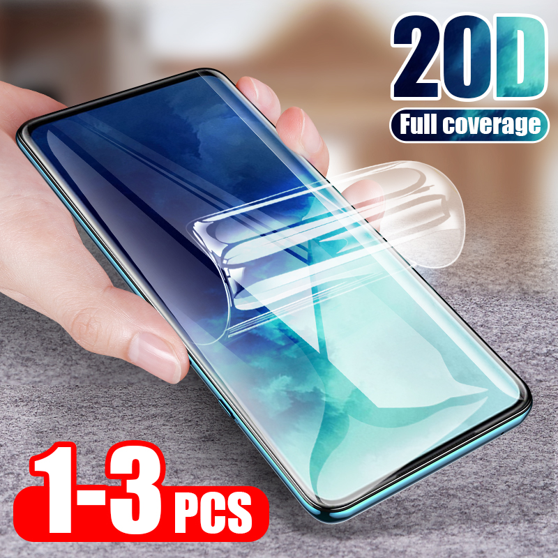ZNP 20D Hydrogel Film For <font><b>Samsung</b></font> Galaxy S8 <font><b>S9</b></font> S10e S10 Plus Screen <font><b>Protector</b></font> For <font><b>Samsung</b></font> Note 8 9 10 S10 S7 Edge Film Not Glass image