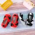 Mipai Star niños zapatos antideslizantes suave Fondo bebé piso zapatos mordedor final primavera y otoño calcetines de los bebés de los hombres zapatos
