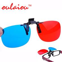 3D Glasses Red And Blue Special Offer Sunglasses Clip Cinema