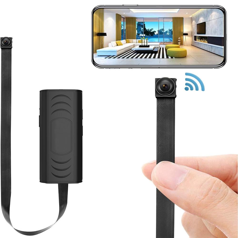 Мини-камера HUOMU Скрытая домашняя Камера Безопасности s 1080P HD Беспроводная Wi-Fi Удаленная камера наблюдения няня камера маленький рекордер