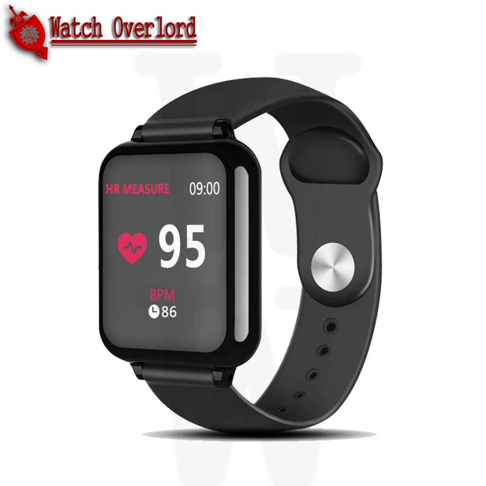 WO B57 Fitness Tracker Smart Watch Waterproof Sport For IOS Android Phone Smartwatch Heart Rate Monitor Blood Pressure Functions