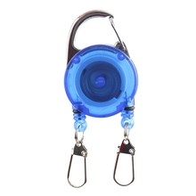 Fly Fishing Retractor Tools Retractable Key Ring Holder Extractor Buckle Gear Accessories
