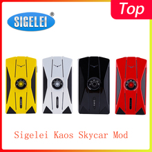 Распродажа! Sigelei Kaos Skycar мод Vape питание от двух аккумуляторов 18650 с макс. 230 Вт Выходная коробка мод vs Fuchai Squonk