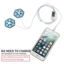 Portable Mini Pulse Body Massager Display Screen Electrode Massage Muscle Stimulator Therapy Meridian Carry-on