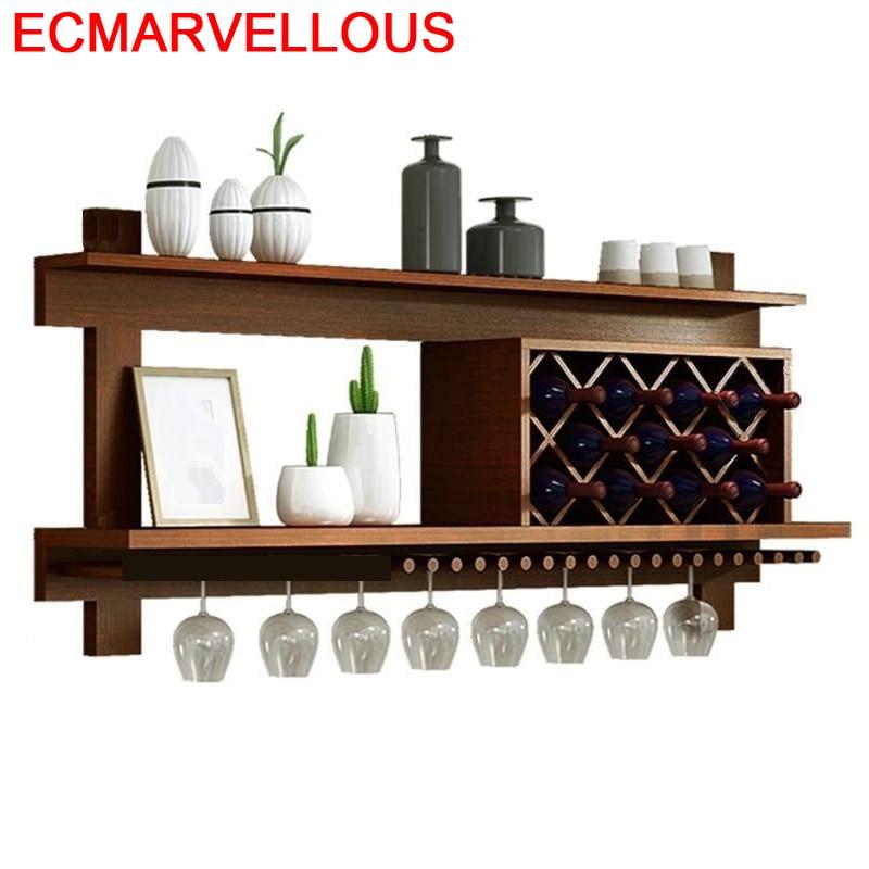 Storage Meube Shelf Mobilya Display Living Room Mesa Adega Vinho Meuble Table Commercial Furniture Mueble Bar Wine Cabinet