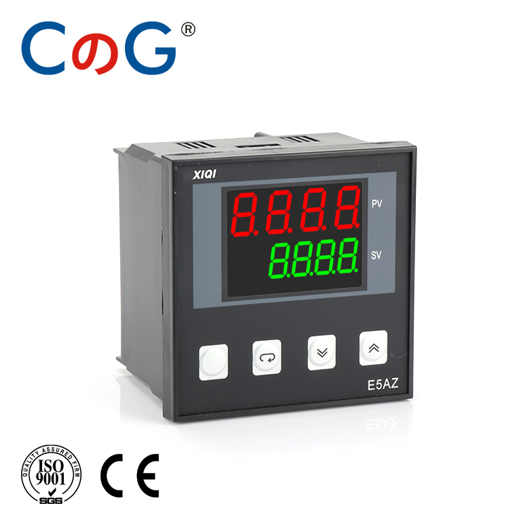 CG E5 Series K E J PT100 4-20mA 0-5v Type AC 220V LCD Screen With RS485 Digital Intelligent Temperature Controller Thermostat