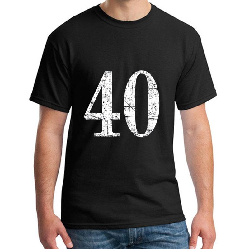 Design <font><b>40th</b></font> <font><b>Birthday</b></font> Gif <font><b>Idea</b></font> Chrismas Party Fun t-shirt s-28xl Casual christmas shirts Unique <font><b>mens</b></font> t shirt tee image