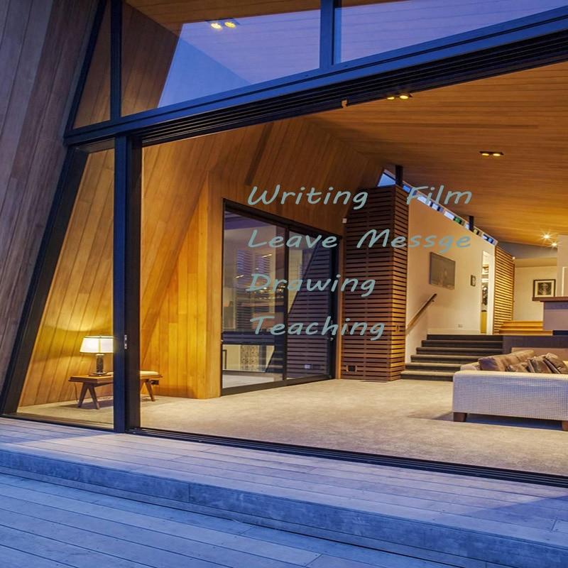 SUNICE Use for Shcool Teaching Eco-friendly  Clear Writing Film Window Glass Leave Messege  Writing Film 50cmX2000cm
