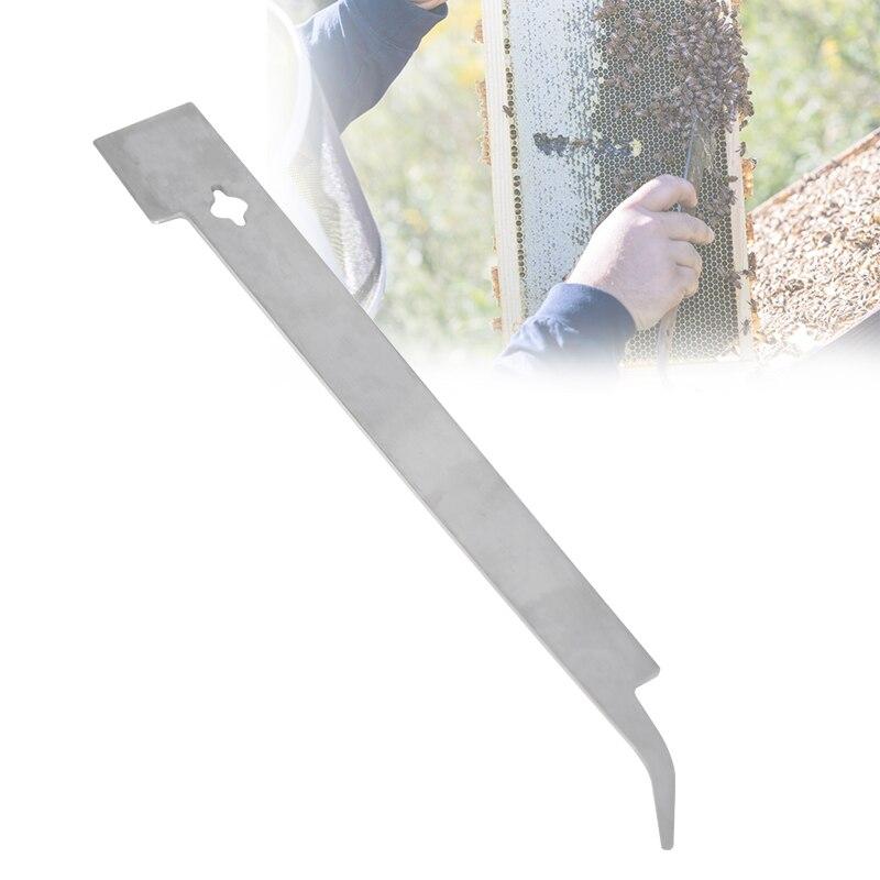 Bee Tools Stainless Steel Bee Honey Knife BeeHive Scraper Multifunctional Beekeeping Tools Bee Scraper Cut Honey Knife