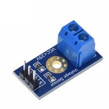 Módulo de sensor de voltagem padrão, tijolos eletrônicos de teste para robô para arduino
