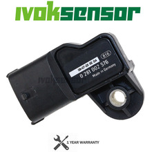 Free Gloves Original Intake Air Boost Pressure MAP Sensor For VOLVO FE FH FL FM FMX MAZ KAMAZ 0281002743 0281002576 0281006102