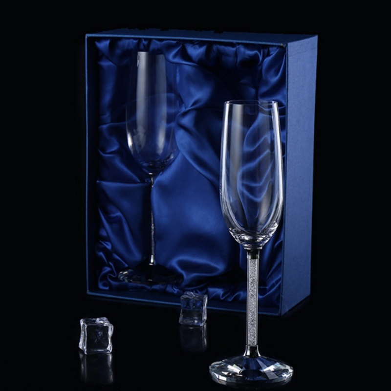 2 шт Свадебные бокалы es персонализированные флейты для шампанского Хрустальные Вечерние бокалы в подарок для тостов хрустальные бокалы с гравировкой на годовщину H1043