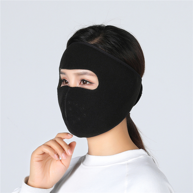 Balaclava Winter Outdoor Neck Motorcycle Face Mask Face Shield Tactical Mask Warm Ski Snowboarding Wind Cap Police Cycling 5