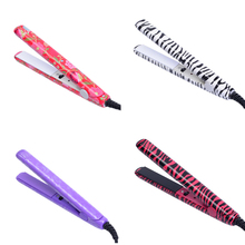 Electronic Hair Iron Hairstyling Portable Ceramic Flat Iron Hair Straightener Irons Styling Tools