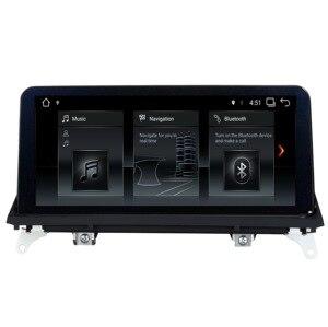 Image 2 - Android 7.1/9.0 AUTO lettore DVD PER BMW X5 E70 BMW X6 E71 audio stereo Multimedia GPS stereo monitor ips schermo CIC CCC Sistema