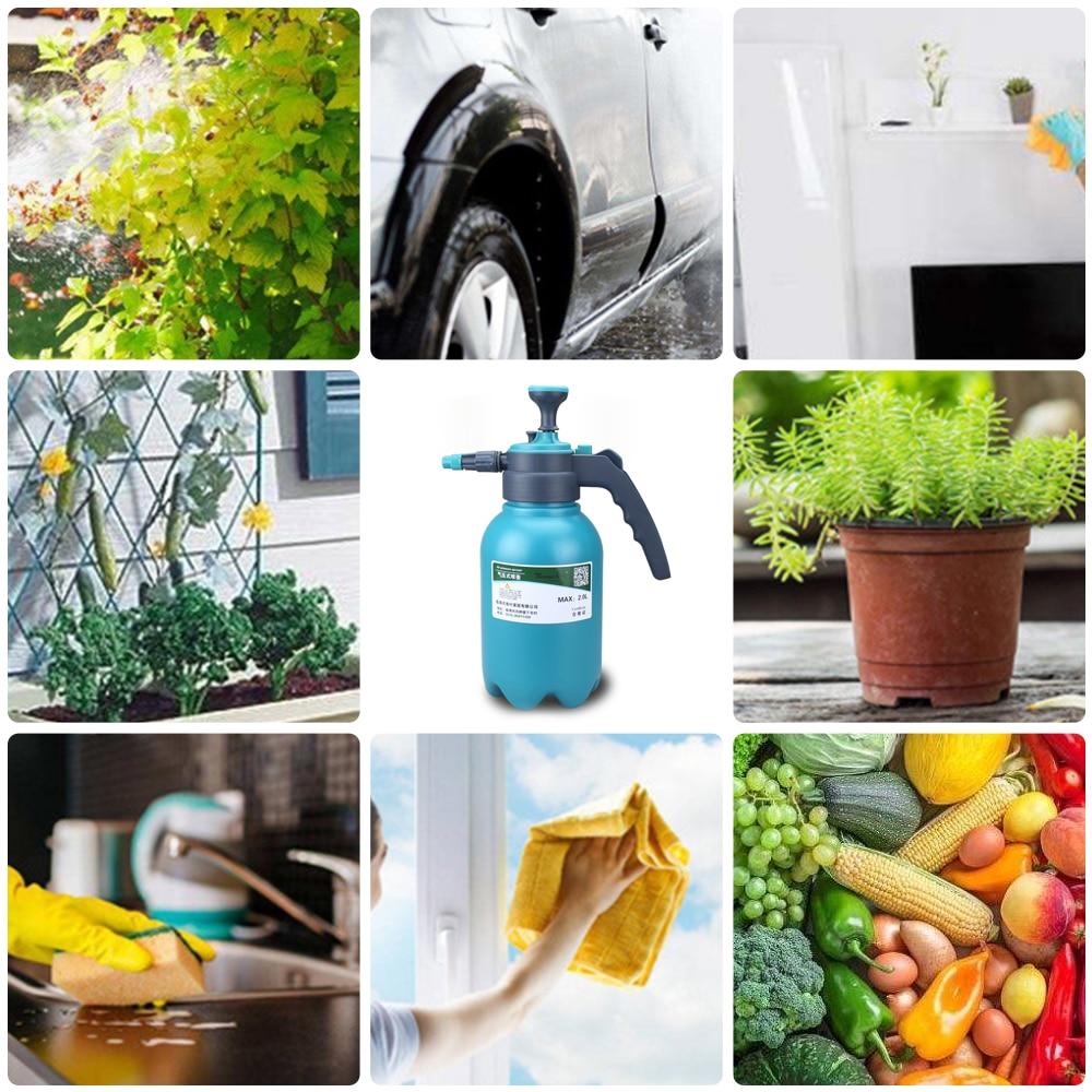 1.5L/2L Hand Pressure  Sprayer Bottle Garden Spray Bottle Plant Irrigation Watering Can Sprayer Adjustable Nozzle He*1-3