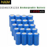 2019 10/20 stücke 16340 CR123A 3,7 V 1200mAh lithium-ionen-Batterien
