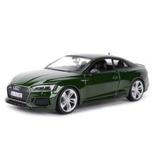 Bburago 1:24 אאודי RS5 קופה ספורט רכב סטטי למות יצוק כלי רכב אספנות דגם רכב צעצועים