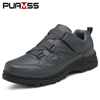 Men Casual Shoes Leather Sneakers 2019 New Autumn Winter Outdoor High Quality Comfortable Male Casual Shoes Zapatos De Hombre