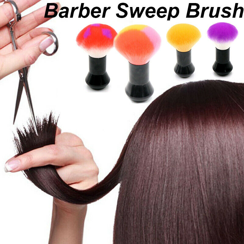 Professional Salon Hot selling Soft Neck Brush Face Duster dispenser Brushes Hair Brush Hairdresser Salon Handle Cosmetic Tools in Styling Accessories from Beauty Health