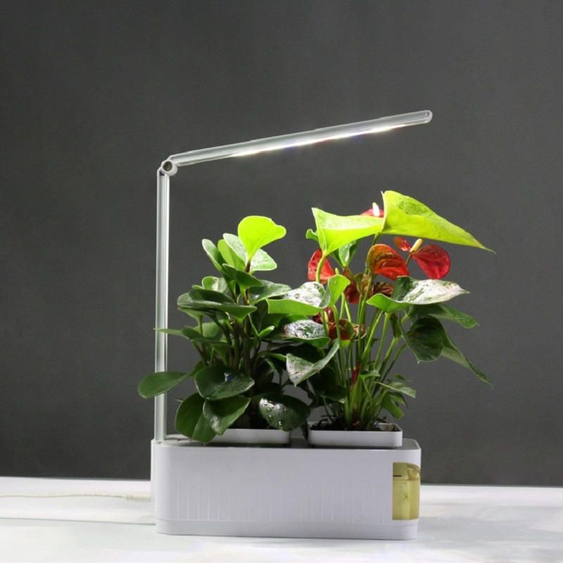 Smart Herb Garden Kit Led Grow Light 110V 220V Multifunction Hydroponic Planting Light Garden Plants Flower Fitolampy Phyto Lamp