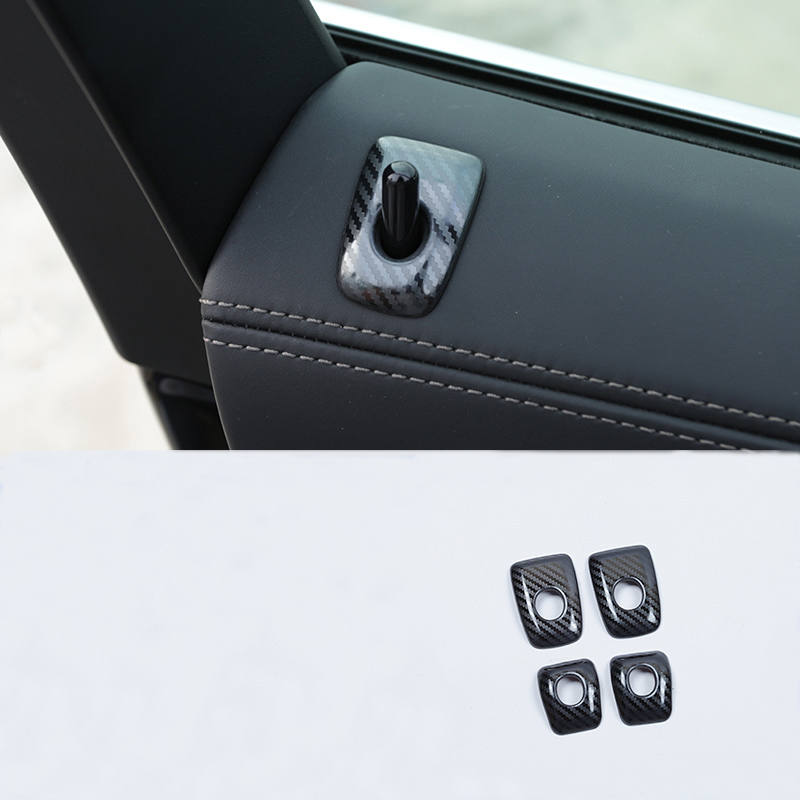 Stainless Steel Interior Side Door Speaker Decorative Cover Trim 4pcs for car accessory VWTG