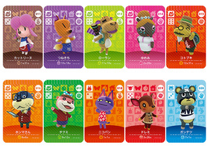 Image 4 - New Amiibo Card NS Game Series 1 (001 to 040) Animal Crossing Card Work for