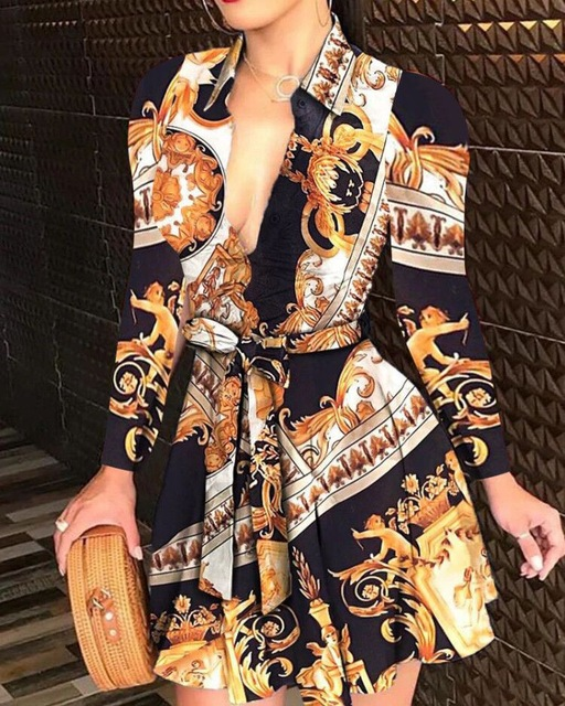 H3d206273dca749c0985bd36c5ada3694v - Print Fashion Mini Dress Women Sexy Sleeveless Party Dresses for Woman Clothes Vestido De Mujer Sashes Clothing Plus Size XXL