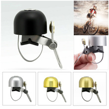 Bike Bell Copper Bicycle Retro Cycling Alarm Ring Handlebar Horn For Safety Metal