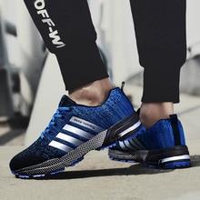 Zapatillas de deporte de los hombres 2019 Casual zapatos para Hombre transpirable zapatillas de moda de Hombre zapatillas de deporte cesta Tenis Hombre zapato Unisex de gran tamaño 35-47