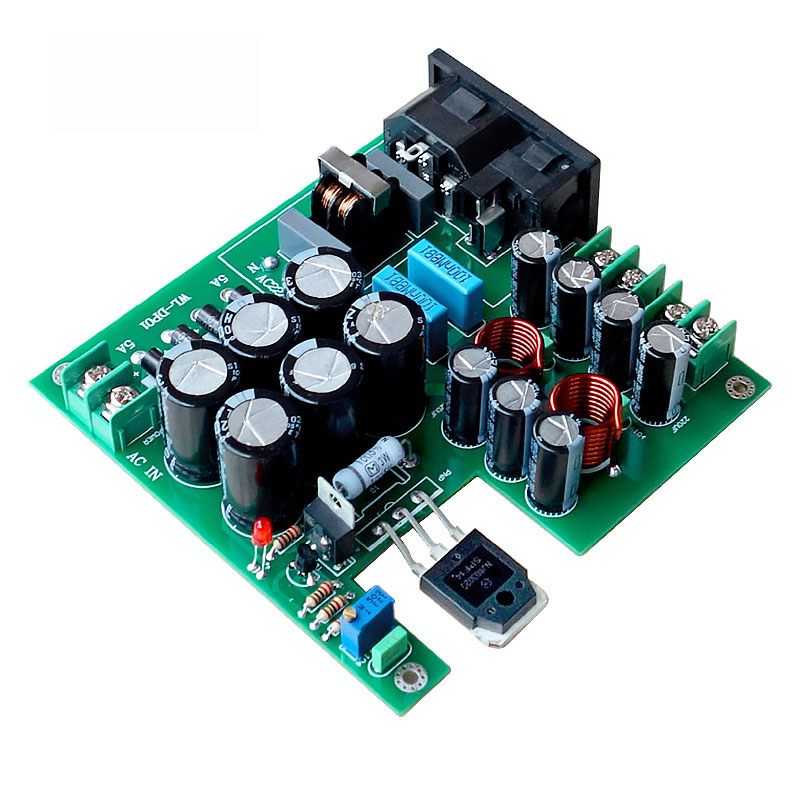 3-stage Filtering <font><b>50W</b></font> DC Linear Power Supply DC12V For Upgrade Audio <font><b>Speaker</b></font> HiFi <font><b>amplifier</b></font> A8-009 image