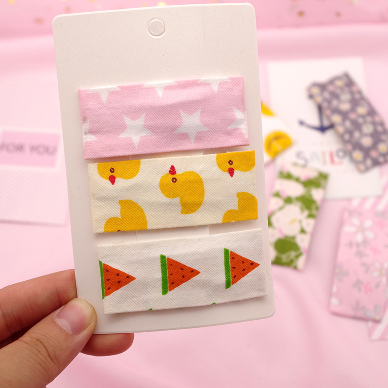 Cute Print Fruit Hair Clips For Girls Snap Cartoon Flower Hair Pins Kids Child BB Baby Hairpin Barrettes Hair Accessories New