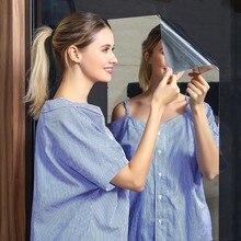 Miroir auto-adhésif carré, autocollant miroir carré, papier mural en cristal, bricolage, dortoir mural 3D, salon, salle de bains, décoration