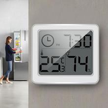 Измеритель температуры и влажности Часы электронный ЖК-цифровой термометр гигрометр