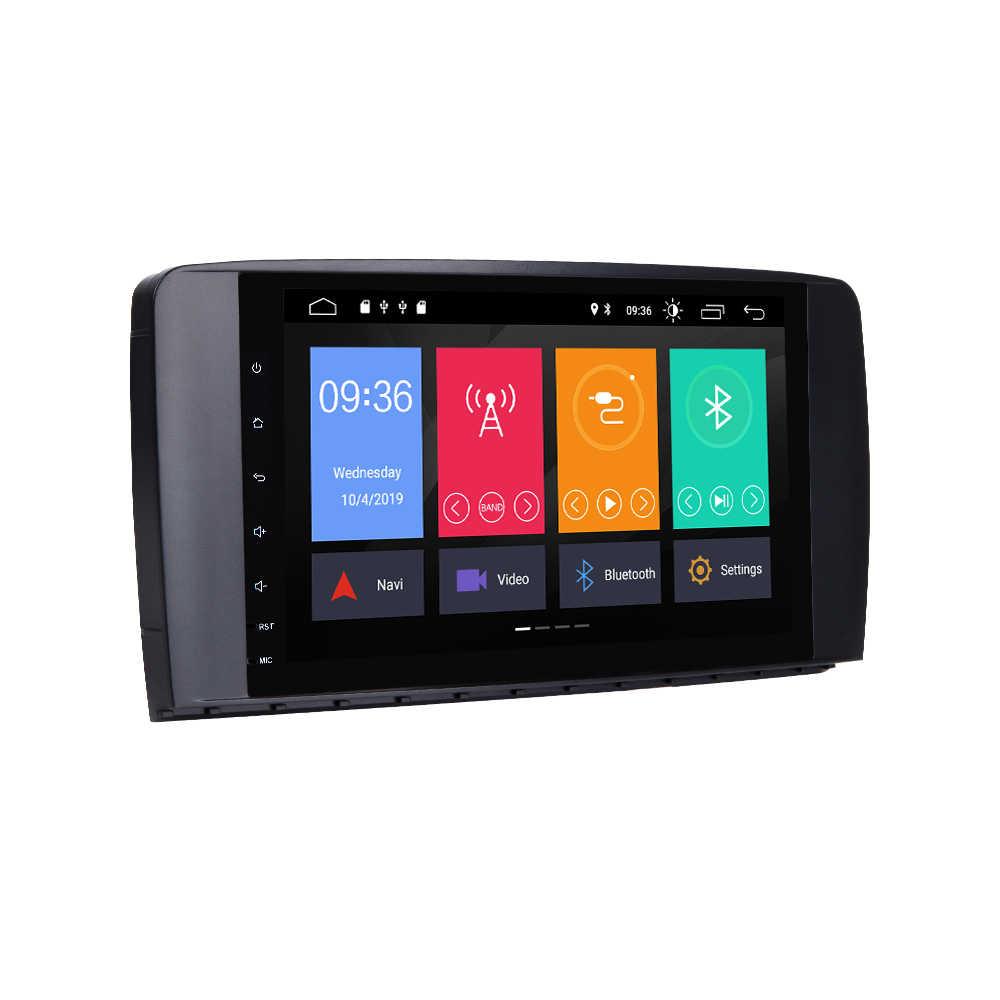 2 Din アンドロイド 9 車ラジオマルチメディアプレーヤーメルセデス · ベンツ Ml W164 ML350 ML500 X164 GL320 GL GPS ナビゲーションヘッドユニットステレオ