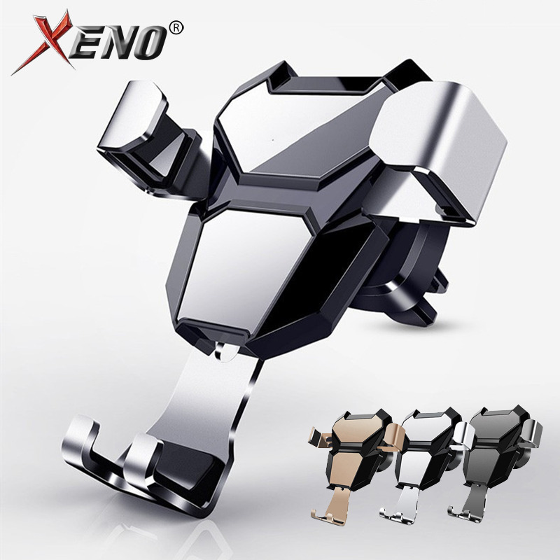 Gravity Car Holder For Phone in Car Air Vent Clip Mount No Magnetic Universal Mobile Phone Holder Stand Support For Smartphone