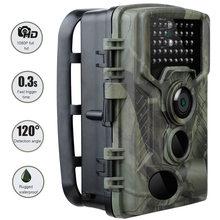20MP 1080P Trail avcılık kamera HC800A IP65 su geçirmez gece sürümü fotoğraf 0.3s tetik zaman yaban hayatı kam ev güvenlik