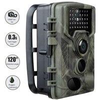 20mp 1080 p trail caça câmera hc800a ip65 à prova dhcágua noite versão foto 0.3s tempo de disparo vida selvagem cam segurança em casa|Câmeras de vigilância| |  -