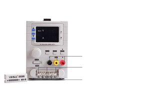 """Image 4 - YIHUA 305DB משתנה dc אספקת חשמל, מרובה/משולש/כפול פלט dc אספקת חשמל 110 V/220 V האיחוד האירופי/ארה""""ב PLUG"""