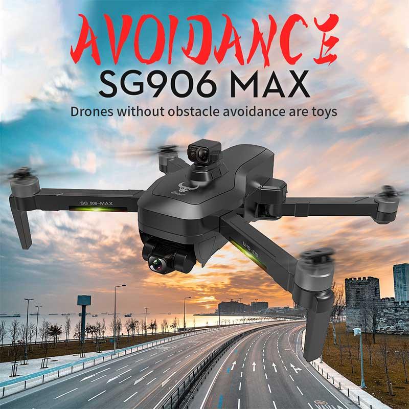 SG906 Pro3/Макс Дрон EVO 3-осевому гидростабилизатору 4K HD камера GPS 5G Wi-Fi FPV Профессиональный радиоуправляемый Дрон 1,2 км 50X бесщеточный мотор RC верт...