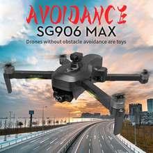 Sg906 pro3/max zangão evo 3-eixo cardan 4k hd camara gps 5g wifi fpv profesional rc dron 1.2km 50x motor brushless rc helicóptero