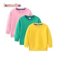 Lawadka/весенне Осенняя детская одежда для мальчиков и девочек;